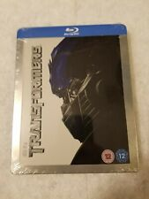 Transformers STEELBOOK Blu Ray UK EMBOSSED SOLD OUT Limited SEALED SOLD OUT RARE