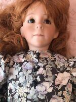 "DONNA's Children 27"" Lifelike Girl Doll Named Willow Designed By Donna Sabonis"