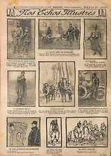 Poilus Chèvres Soldats Brancardiers Clairon Bel-Hadi Hamed Petit-Breton WWI 1915