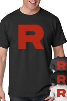 Team Rocket Uniform T-Shirt perfect for Pokemon Cosplay Shirt S-5XL