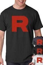 Team Rocket Uniform T-Shirt perfect for Pokemon Cosplay Shirt S-5XL