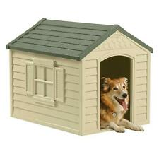 Dog Kennel For Large Dogs Outdoor Pet Insulated Cabin House Big Shelter New