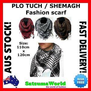 PLO Army Military Tactical Unisex Arab Shemagh KeffIyeh Shawl tuch Scarf Wrap