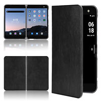 For MicrosoftSurfaceDuo Wear-resistant Leather Phone Case Protective Shell