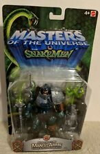 MOTU 200X Masters Of The Universe vs. the snake men SERPENT CLAW MAN-AT-ARMS MOC