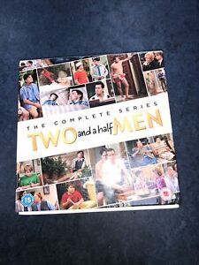 Two and a Half Men Complete Collection - Season 1-12  UK Region 2 DVD