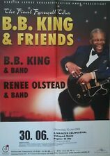 BB KING  2005  MAINZ  + orig. Concert Poster - Konzert Plakat TOP 144