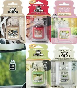 Yankee Candle Car Jar Ultimate 3D Car Air Freshener - Choice Scents-20% Off 4+