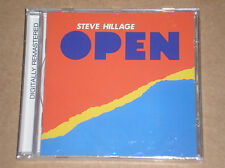 STEVE HILLAGE - OPEN - CD REMASTERED SIGILLATO (SEALED)