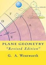 """NEW Plane Geometry: """"Revised Edition"""" by G. A. Wentworth"""