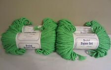 Lot of 4 Rolls of Parrot Neon Green 6mm Braided Elegance Macrame Cord 400yds