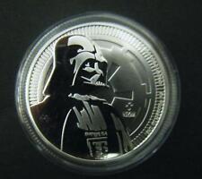 2017 $2 1oz Niue New Zealand Mint Star Wars Darth Vader Silver Bullion coin .999