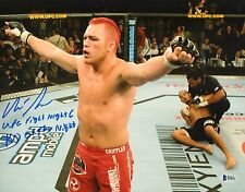 Chris Leben Signed UFC 11x14 Photo BAS Beckett COA Picture Autograph Fight Night
