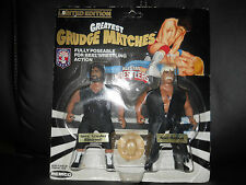 "REMCO AWA/wwf ALL STAR WRESTLNG GRUDGE MATCH""BLACKWEL/HANSEN""SIGN""figure MOC"