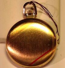 Colibri Men's Pocket Watch Gold Tone Metal Quartz Movement