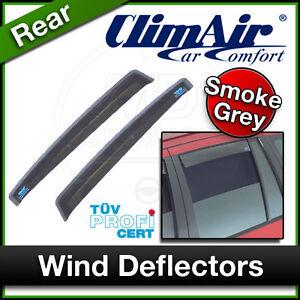 CLIMAIR Car Wind Deflectors MITSUBISHI COLT 5 Door 2009 onwards REAR