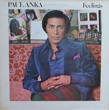 """Vinyle 33T Paul Anka  """"Feelings"""""""