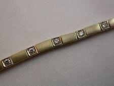feines Brillant-Armband Gold 750 Qualität