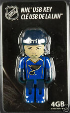 ST. LOUIS BLUES 4GB USB 2.0 Flash Drive Memory Stick NHL (Clé) Hockey Player