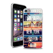 Coque Housse Iphone 7 - Motif Mix Amerique
