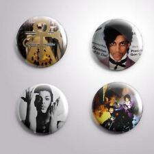 4 PRINCE -  Pinbacks Badge Button 25mm 1''..