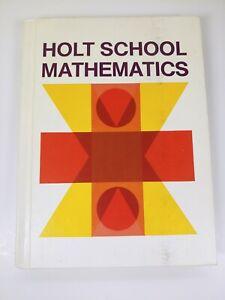 Holt School Mathmatics Gr 3 Hardcover Eugene Nichols Home-Schooling Unused