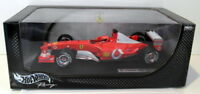 Hot Wheels 1/18 Scale Diecast - B1023 Michael Schumacher Ferrari 2003-GA