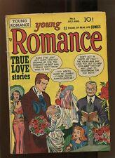 YOUNG ROMANCE #6 (6.5) SIMON & KIRBY! 1948