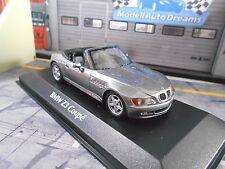 BMW Z3 M Roadster Cabriolet E36/7 Cabrio grau 1997 SP Maxichamps Minichamps 1:43