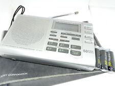 Sony ICF-SW35 Banda internacional AM FM LW SW Radio receptor de sintonización digital de onda corta