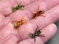 Variety 8-pack bluegill sunfish flies Gibson Brim Killers