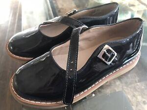 ELEPHANTITO BLACK DRESS SHOES! GIRLS SZ 11