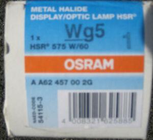 1* OSRAM HSR 575W/72 7200K GX9,5 Leuchtmittel NEU&OVP Rechnung