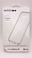 Tech21 Samsung Galaxy S8 / S8+ Plus Pure Clear Impact Protection Slim Case Cover