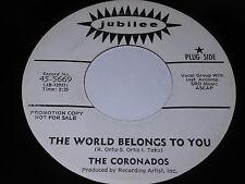 The Coronados: The World Belongs To You / She's My Girl 45