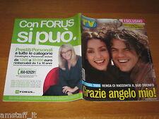 TV SORRISI E CANZONI=2005/11=FRANCESCO RENGA=AMBRA ANGIOLINI=FESTIVAL SANREMO=