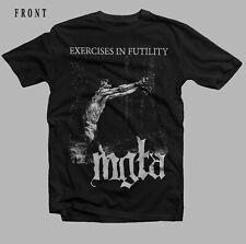 Mgła-Esercizi di futilità-black metal band-archgoat, T-Shirt-Taglie: S a 7XL