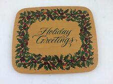 Longaberger Holiday Greetings Lid Only 11 x 9