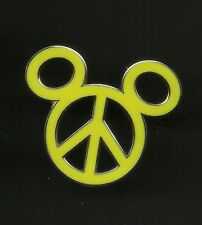 Mickey Mouse Peace Symbol Splendid Walt Disney Pin