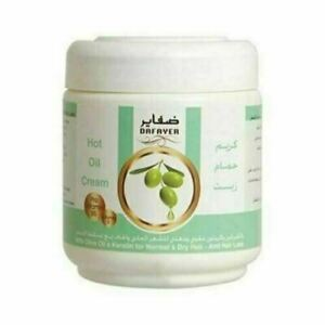 Dafayer Hot Oil Cream With Olive Oil & Keratin For Normal & Dry Hair 1Kg