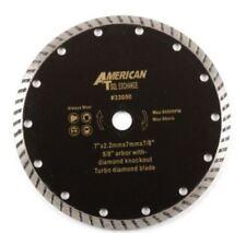 "7 "" Inch Wet Dry Turbo Diamond Tile Cutting Saw Blade"