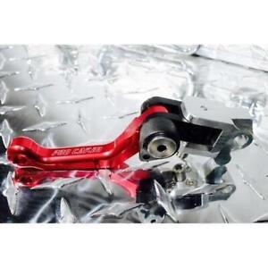 HONDA CRF 250X CRF 250-450R CNC 360 degree pivot Brake lever CNC bling