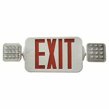 Led Remote Capable Combo Exitemergency Light Morris