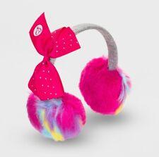 JoJo Siwa Earmuffs Pink Gray Rainbow One Size NWT