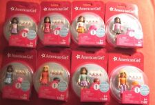 Series 1 Mega Blocks American Girl COMPLETE Set of 8 Figures, STOCKING STUFFERS!