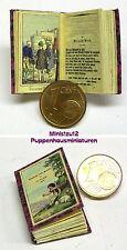 1022# nostalgia libro in miniatura-favole-bambole Tube-bambole Tube-M 1zu12