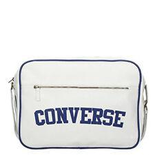 Converse Reporter Heritage PU Bag (White)