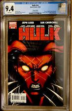 HULK #14 CGC 9.4 McGUINNESS VARIANT COVER RED SHE-HULK COVER (2009) MARVEL