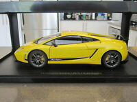 1:18 AUTOART 74658 LAMBORGHINI GALLARDO LP570-4 SUPERLEGGERA YELLOW *NEW*