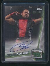 2019 Topps SHINSUKE NAKAMURA Money Bank auto autograph /199 WWE